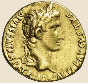 ауреус императора Августа