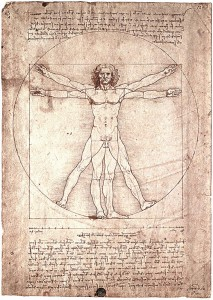 витрувианский человек Леонардо